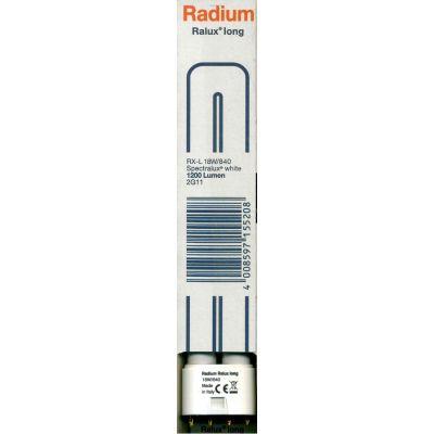 Radium Kompaktleuchtstofflampe Ralux RX-L 18W 840 4000K Cool White 2G11