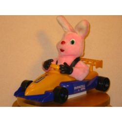 Duracell Duracell Racing Bunny - Rennfahrer Hase