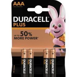 Duracell Batterie Plus AAA/Micro, B4