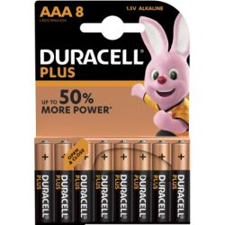 Duracell Batterie Plus AAA/Micro, B8