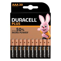 Duracell Batterie Plus AAA/Micro, B20