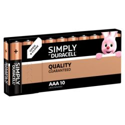 Duracell Batterie Simply AAA/Micro, K10