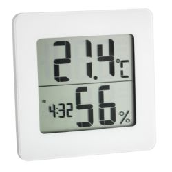 TFA Thermo-Hygrometer digital weiß, K1