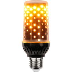 STAR Trading LED-Flame Lamp mit Flammensimulation E27, K1
