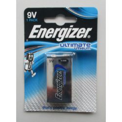 Energizer Lithiumbatterie Ultimate Lithium 9V/E-Block L522, B1